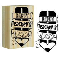 Carimbo Happy Teacher´s day