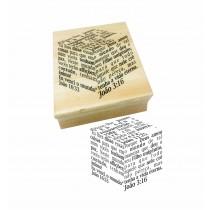 Carimbo Evangelho ao Cubo