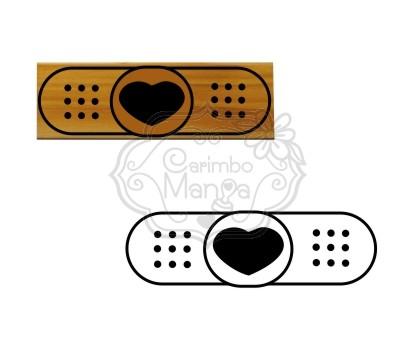 Carimbo Band-Aid de Amor