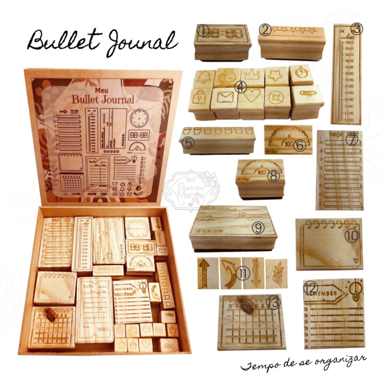carimbo Bullet Journal