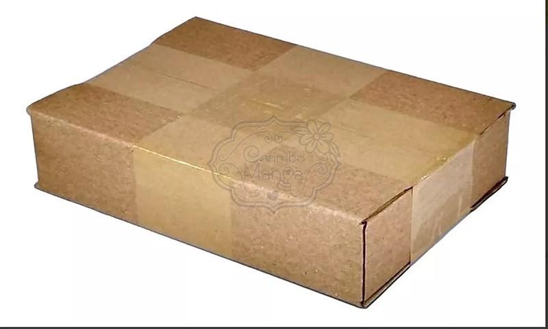 Caixas De Papelão 16 X 11 X 03 Tipo 0b Correio Pac Sedex