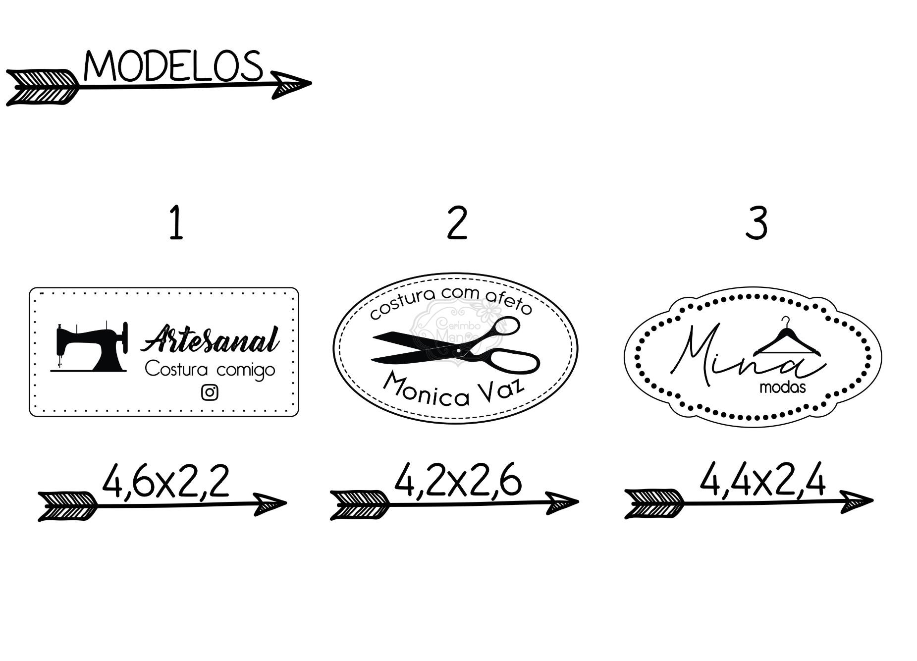 Etiqueta Sintética ou Couro natural e MDF a partir de R$ 0,61 cada
