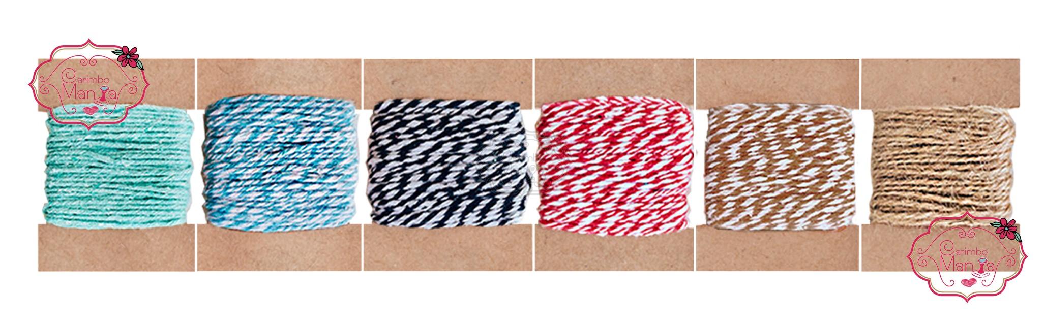 Twine Cotton Bicolor e SISAL a partir de R$7,99