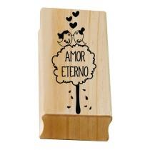 Carimbo Amor Eterno