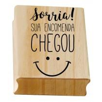 Carimbo Sorria sua encomenda chegou :)