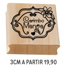 Carimbo Personalizado 3cm a partir de R$19,90