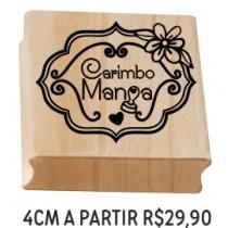 Carimbo Personalizado  4cm a partir de R$34,90