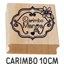 carimbo personalizado 10cm