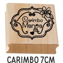carimbo personalizado 7cm