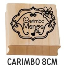 carimbo personalizado 8cm
