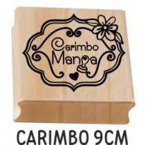 carimbo personalizado 9cm