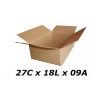 Caixas De Papelão 27 X 18 X 09  Correio