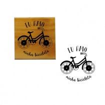 Carimbo Eu amo minha bike
