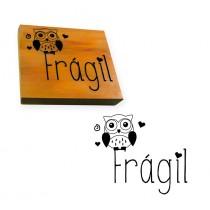 carimbo fragil