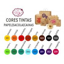 Tinta para carimbo 15 opções de Cores valor unitário R$20,00