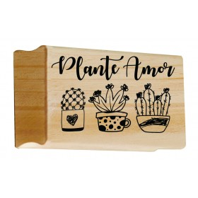 Carimbo Plante amor