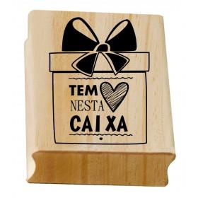 Carimbo Tem Amor nesta Caixa 2